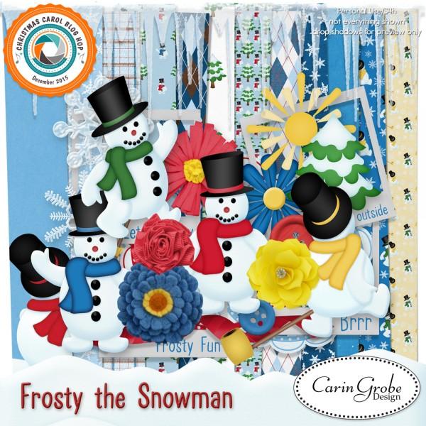 Frosty Kit by Carin Grobe Design