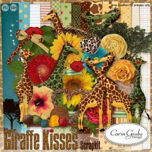 Carin Grobe Design - Giraffe Kisses