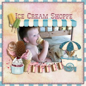 EnJOY Ice Cream by Carin Grobe Design