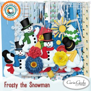 Carin Grobe Design - Frosty the Snowman