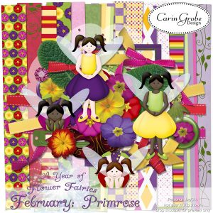Carin Grobe Design - Primrose Fairy
