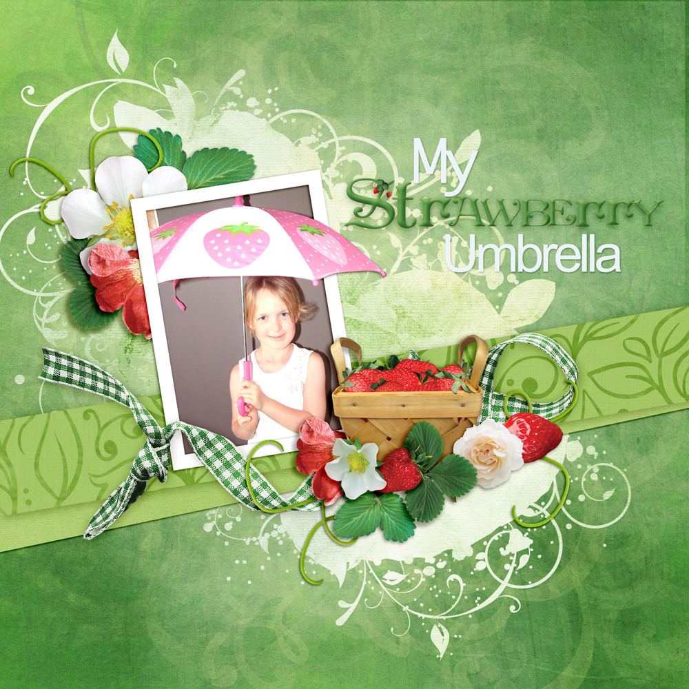 Carin Grobe Design - Strawberry Mint Layout 2 by Denise